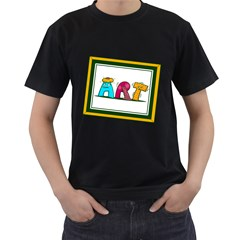 Sick Art Mens' T Shirt (black)