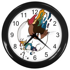 Watch it Wall Clock (Black) by Contest1714880