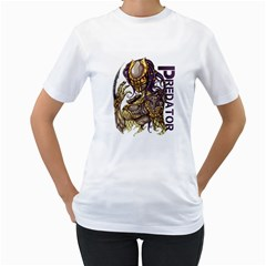 Predator Womens  T Shirt (white)