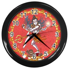 Shiva Wall Clock (black) by Contest1732403