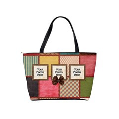 Thoughts Of Friendship Handbag 1 By Lisa Minor   Classic Shoulder Handbag   8406an6tct1z   Www Artscow Com Back