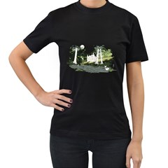 Castlewood By Speedcow Womens' Two Sided T Shirt (black)