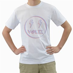 Voltz 3d Mens  T Shirt (white) by Contest1701949