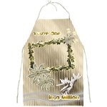 Your One in a Million Floral Love full print apron