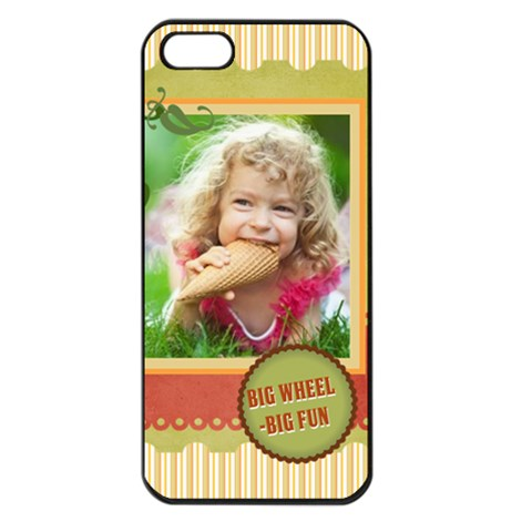 Kids By Kids   Apple Iphone 5 Seamless Case (black)   X3rbcqxac1ik   Www Artscow Com Front