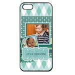 kids - Apple iPhone 5 Seamless Case (Black)