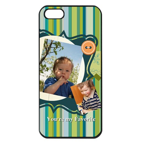 Kids By Kids   Apple Iphone 5 Seamless Case (black)   Cy2etxobve4h   Www Artscow Com Front