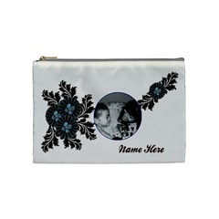 Cosmetic Bag (medium)   Flourishes By Jennyl   Cosmetic Bag (medium)   9yf054r3nzrn   Www Artscow Com Front