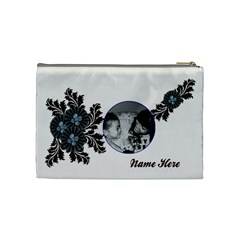 Cosmetic Bag (medium)   Flourishes By Jennyl   Cosmetic Bag (medium)   9yf054r3nzrn   Www Artscow Com Back