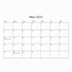 Wall Calendar 8 5 X 6   B/w   A Love Story By Jennyl   Wall Calendar 8 5  X 6    819r06oub0bj   Www Artscow Com May 2016