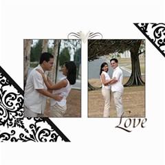 Wall Calendar 8 5 X 6   B/w   A Love Story By Jennyl   Wall Calendar 8 5  X 6    819r06oub0bj   Www Artscow Com Month