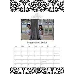 Desktop Calendar 6  X 8 5    B/w   A Love Story By Jennyl   Desktop Calendar 6  X 8 5    5s5r8pvk19l8   Www Artscow Com Nov 2016
