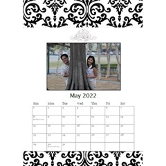 Desktop Calendar 6  X 8 5    B/w   A Love Story By Jennyl   Desktop Calendar 6  X 8 5    5s5r8pvk19l8   Www Artscow Com May 2016