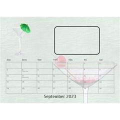 Happy Hour Desktop Calendar By Lil    Desktop Calendar 8 5  X 6    Onge9qwcx4hm   Www Artscow Com Sep 2015