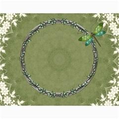 Nature Green 12 Month Wall Calendar By Lil    Wall Calendar 11  X 8 5  (12 Months)   D3oxkd5706s5   Www Artscow Com Month
