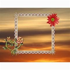 Sunset Pretty Calendar (12 Month) By Lil    Wall Calendar 11  X 8 5  (12 Months)   3o38ulwp13ck   Www Artscow Com Month
