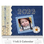 Fun and Pretty Calendar (12 Month) - Wall Calendar 11  x 8.5  (12-Months)