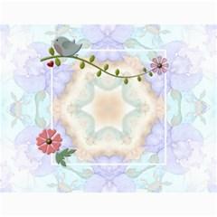 Pretty Love Calendar (12 Month) By Lil    Wall Calendar 11  X 8 5  (12 Months)   02jph5bkvdqs   Www Artscow Com Month