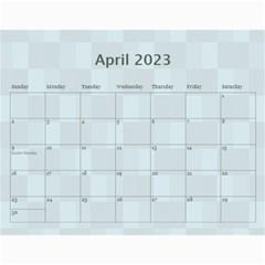 Family Pretty 12 Month Calendar By Lil    Wall Calendar 11  X 8 5  (12 Months)   Kvzu77hxukfz   Www Artscow Com Apr 2015