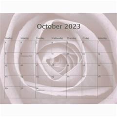 Pretty Lace Calendar (12 Month) By Lil    Wall Calendar 11  X 8 5  (12 Months)   0xg0184rf6z0   Www Artscow Com Oct 2015