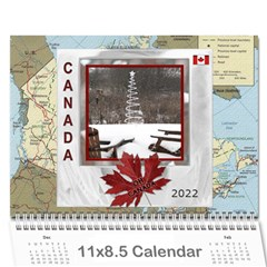 Canada   12 Month Calendar By Lil    Wall Calendar 11  X 8 5  (12 Months)   4rb5nvlq89pt   Www Artscow Com Cover