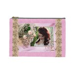 Pink Treasure Cosmetic Bag (large)