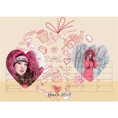 Love By Ki Ki   Desktop Calendar 8 5  X 6    0cgv2nm8nru0   Www Artscow Com Mar 2014