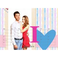 Love By Ki Ki   Desktop Calendar 8 5  X 6    0cgv2nm8nru0   Www Artscow Com Apr 2014