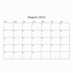 Love By Ki Ki   Wall Calendar 8 5  X 6    St7ud6qejjoy   Www Artscow Com Aug 2014