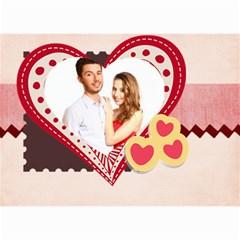 Love By Ki Ki   Wall Calendar 8 5  X 6    St7ud6qejjoy   Www Artscow Com Month