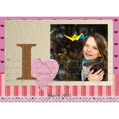 Love By Ki Ki   Desktop Calendar 8 5  X 6    Rf1lberr7ii7   Www Artscow Com Mar 2015