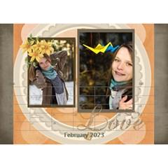 Love By Ki Ki   Desktop Calendar 8 5  X 6    Rf1lberr7ii7   Www Artscow Com Feb 2014