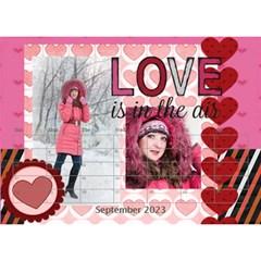 Love By Ki Ki   Desktop Calendar 8 5  X 6    Rf1lberr7ii7   Www Artscow Com Sep 2014