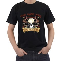 Chaos Panic Fear Our Work Here Is Done Mens' T Shirt (black) by Contest993860