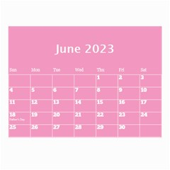 Pink Princess Wall Calendar (any Year) 8 5x6 By Deborah   Wall Calendar 8 5  X 6    Gu9vb6w3gc37   Www Artscow Com Jun 2018