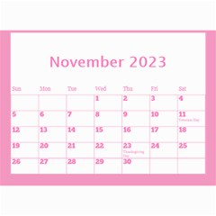 Pink Princess Wall Calendar (any Year) 8 5x6 By Deborah   Wall Calendar 8 5  X 6    Gu9vb6w3gc37   Www Artscow Com Nov 2018