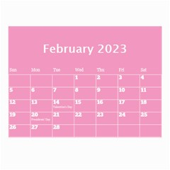 Pink Princess Wall Calendar (any Year) 8 5x6 By Deborah   Wall Calendar 8 5  X 6    Gu9vb6w3gc37   Www Artscow Com Feb 2018