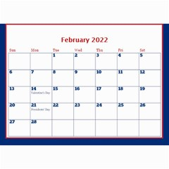 A Little Perfect Wall Calendar 8 5x6 By Deborah   Wall Calendar 8 5  X 6    3a16rboof3tc   Www Artscow Com Feb 2017