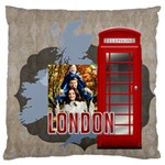 travel - Large Cushion Case (One Side)