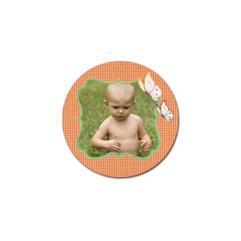 Little One Golf Ball Marker By Deborah   Golf Ball Marker   3uj8dpla4orx   Www Artscow Com Front
