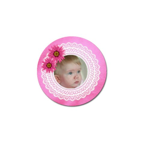 Little Angel Golf Ball Marker By Deborah   Golf Ball Marker   Pcdu38d1wz3t   Www Artscow Com Front