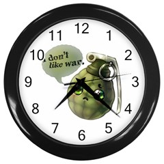 Grenade  Wall Clock (black) by Contest1734409