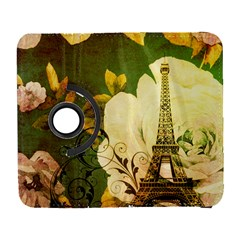 Floral Eiffel Tower Vintage French Paris Samsung Galaxy S  Iii Flip 360 Case