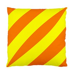 Oranges And Lemons Cushion Case (single Sided)  by colourconnectors