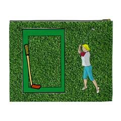 Golf Xl Cosmetic Bag By Joy Johns   Cosmetic Bag (xl)   Mj4dzaned8cz   Www Artscow Com Back