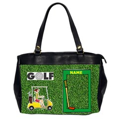 Golf Office Handbag By Joy Johns   Oversize Office Handbag (2 Sides)   7wgkcq0vp4vz   Www Artscow Com Front