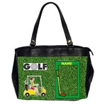 Golf office handbag - Oversize Office Handbag (Two Sides)