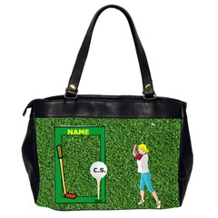 Golf Office Handbag By Joy Johns   Oversize Office Handbag (2 Sides)   7wgkcq0vp4vz   Www Artscow Com Back