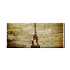 Elegant Vintage Paris Eiffel Tower Art Hand Towel by chicelegantboutique
