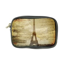Elegant Vintage Paris Eiffel Tower Art Coin Purse